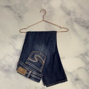 """Silver Tuesday 16 1/2"""" Capris Size 33"""
